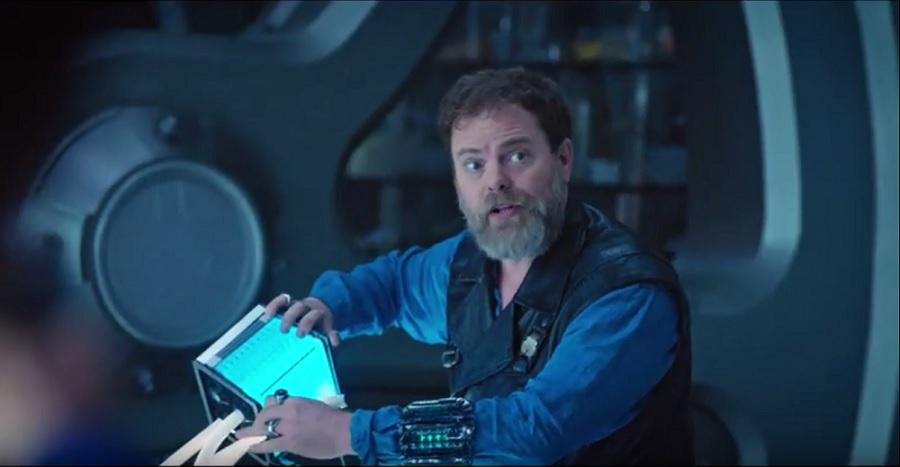 Rainn Wilson as Harry Mudd returns in Magic to Make the Sanest Man Go Mad
