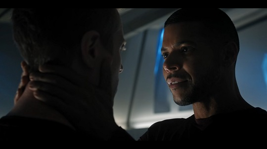 Stamets and Culber have a serious moment after he's already dead in Vaulting Ambition