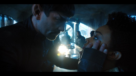 Mirror Spock Mind Melds with Burnham in The Wolf Inside
