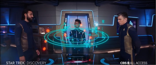 The situation room from the Star Trek Discovery season two trailer